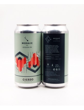 Cierzo Brewing Mosaic can...