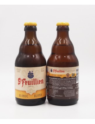 St. Feuillien Blonde bottle...