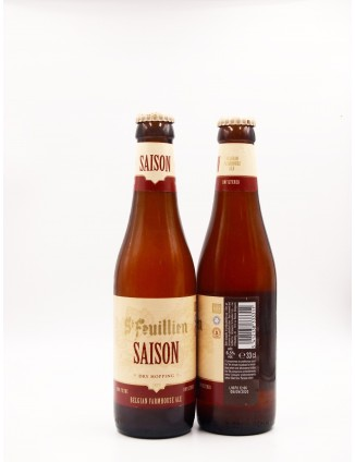 St. Feuillien Saison bottle...