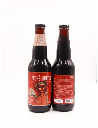 Dieu du Ciel PECHÉ BOURBON bottle 341ml