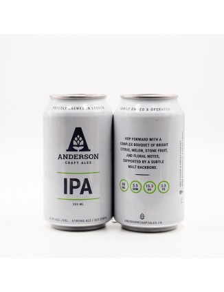 ANDERSON AMERICAN IPA can 355ml.