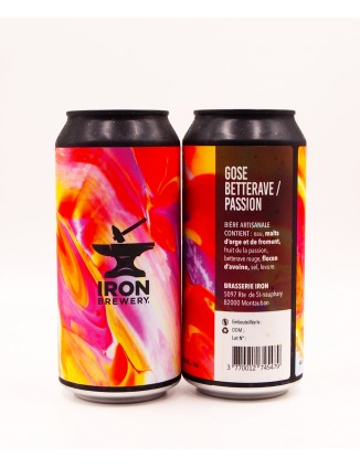 Iron Brewery Gose Betterave...