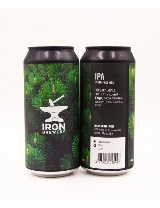 Iron Brewery IPA DDH Simcoe Amarillo can 440ml