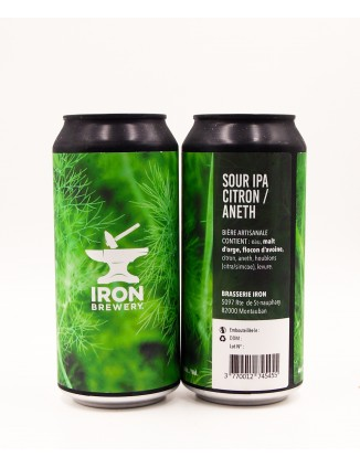 Iron Brewery Sour IPA...