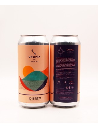 Cierzo Brewing Utopia can...