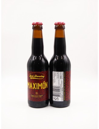 SORI BREWING Maximón bottle...