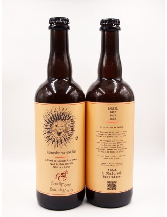 SMALL PONY SURRENDER TO THE SUN bottle 750ml