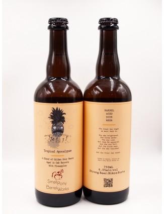 SMALL PONY TROPICAL APOCALYPSE bottle 750ml