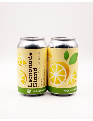 INDIE ALEHOUSE, LEMONADE STAND can 355ml.