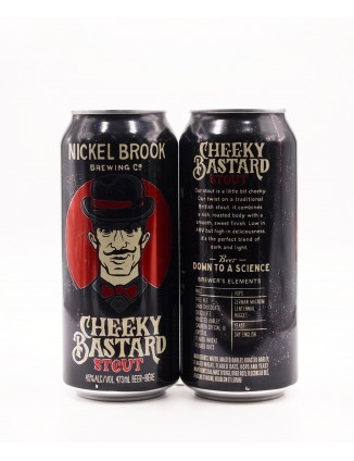 Nickel Brook CHEEKY BASTARD can 473ml