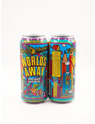 Flying Monkeys WORLDS AWAY can 473ml
