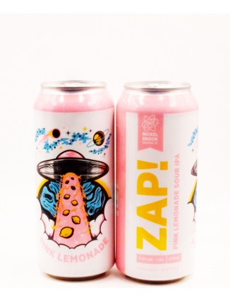 Nickel Brook PINK ZAP! can...