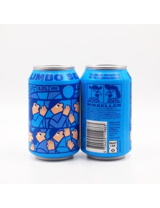 Mikkeller Limbo Series Blueberries can 330 ml ABV 0,3